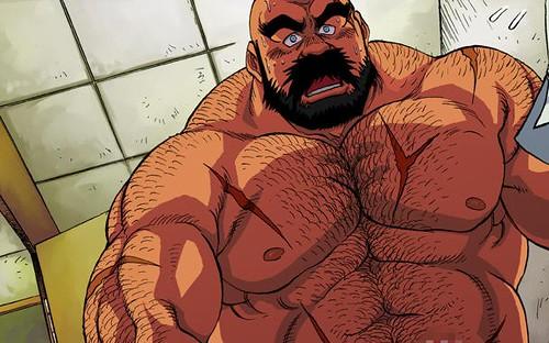 bara manga bear