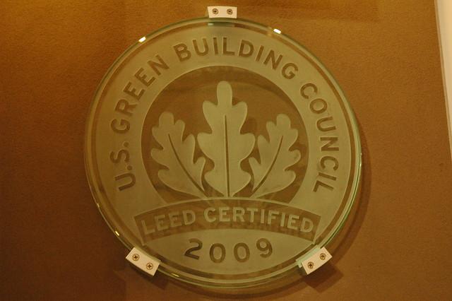 U S Green Building Council Leed Certified Logo 2009