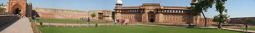 Agra Fort Panorama