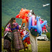 Inflatables seller, Panajachel, lake Atitlan
