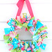 preppy rag wreath