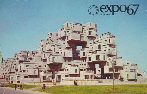 Habitat '67 at Expo '67 - Montreal, Quebec