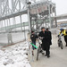 Riverfront Heritage Trail ASB Bridge Underpass Ribbon-Cutting (1-15-10)