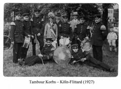 1927, Tambourkorps Köln Flittard, SW055