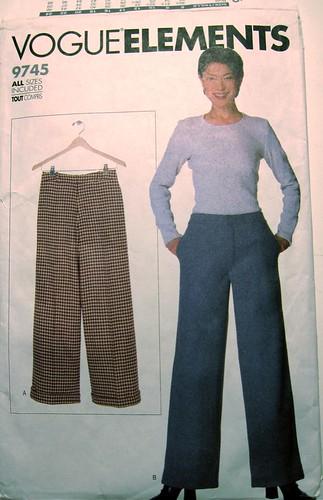 Vogue 9745 Pants