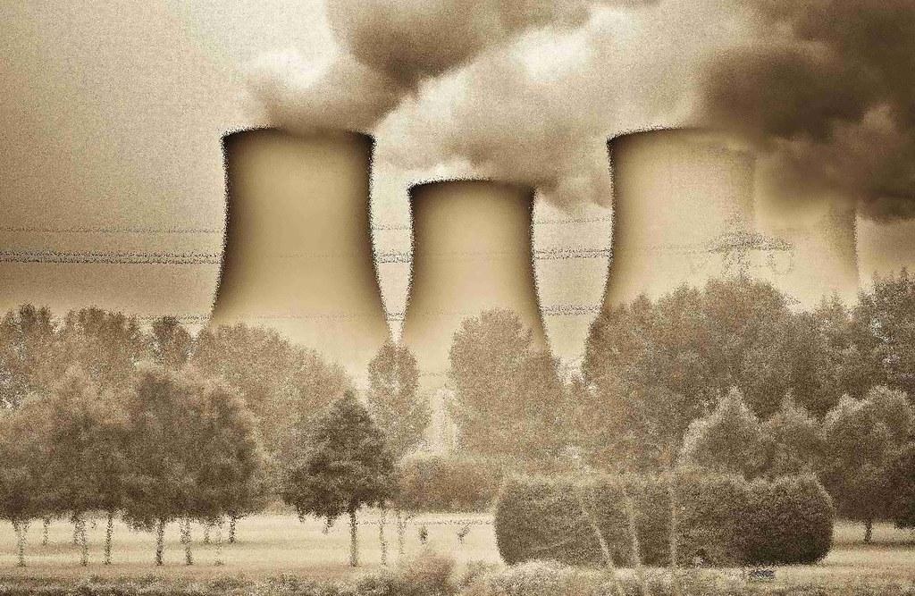 位於倫敦近郊的電廠。照片經拍攝者後製處理。(攝影:Jan Smith / flickr)