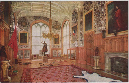Windsor Castle State Appartments Guard Room Raphael