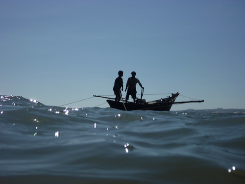 Men in a fishing boat