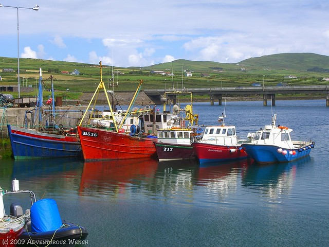 Fishing boats at Portmagee