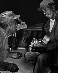 R.L. Burnside and Johnny Woods