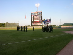 Ripken Stadium appreciates the military
