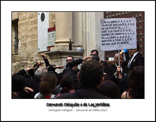 Chirigota Callejera - Los guardaespaldas de George Clooney