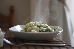 Bokeh Galore - Asparagus Risotto