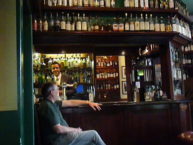 Craigellachie Whisky Bar, Speyside, Scotland