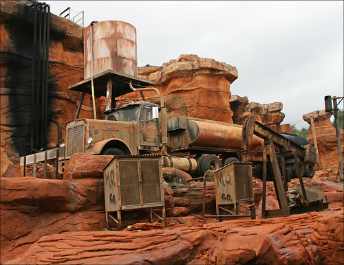 Catastrophe Canyon, Disney's Hollywood, Walt Disney World, Orlando