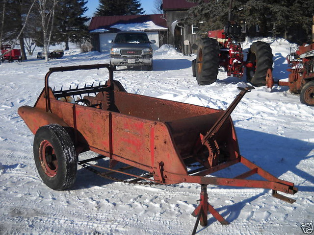 Farmall Manure Spreader : International farmall manure spreader flickr