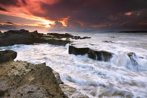 sunset bali seascape nature canon indonesia landscape reverse hitech singhray tropicaliving