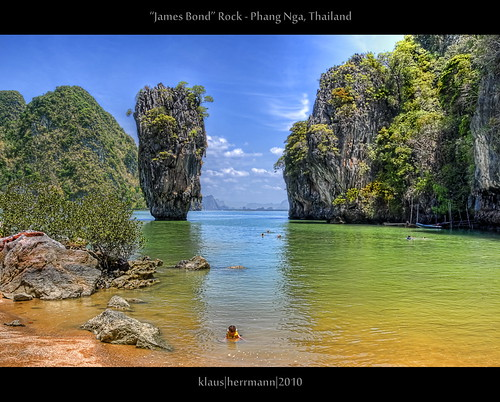 James Bond Rock - Phang Nga, Thailand (HDR)