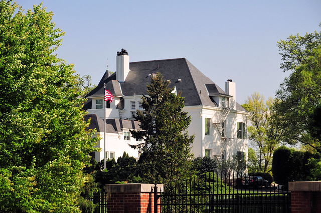US Naval Observatory - US Vice President House - a photo ...