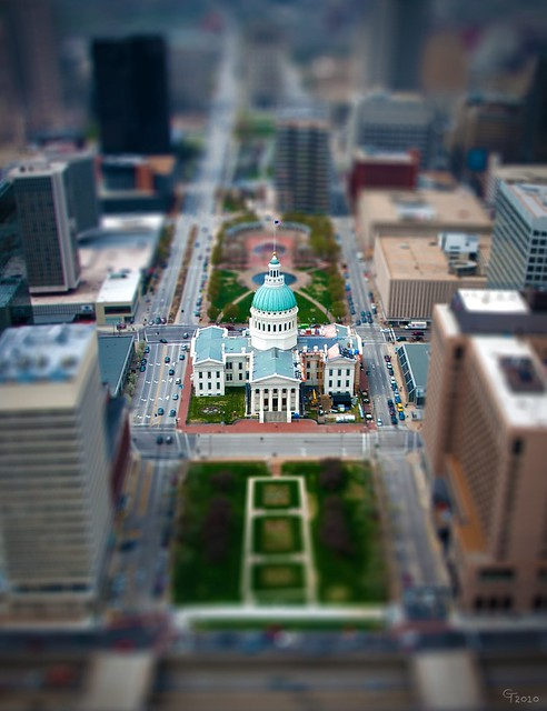 St. Louis Courthouse Miniature