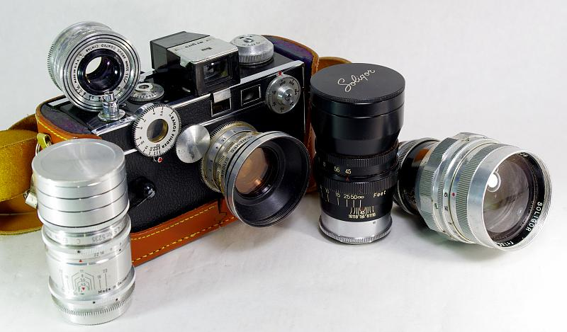 argus c3 and its lenses. Black Bedroom Furniture Sets. Home Design Ideas