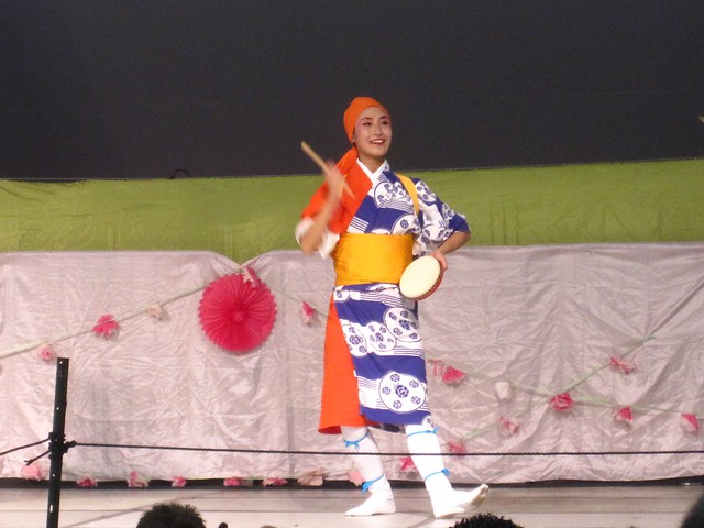 Minbu folk dance performed by the Japanese Folk Dance Institute of NY.