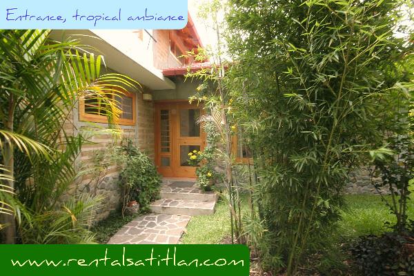 guatemala rental 2 bedroom house in panajachel lake