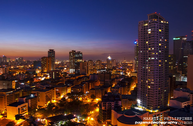Makati Sunset - Been working in Makati the last week, went b ...