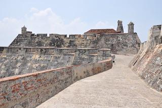 תמונה של Castillo San Felipe de Barajas ליד Cartagena.