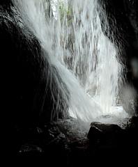 From behind the falls at Burn O'Vat