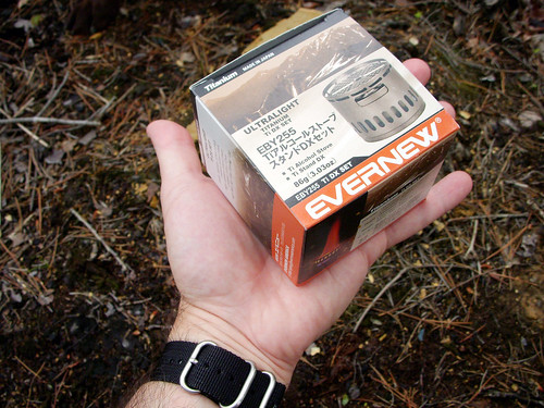 Evernew DX Alcohol Stove Set