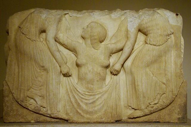 Rom, Palazzo Altemps, Ludovisischer Thron, die ...