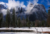 Cathedral Rock, Yosemite National Park, California, USA
