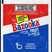 Topps - Bazooka Fruit Bubble Gum 1.25 oz wrapper - 1970's