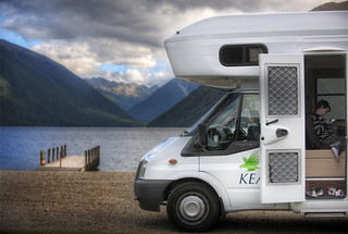 Kea Campers in new Zealand