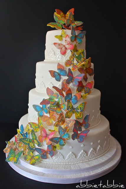 Butterfly Wedding Cake Flickr Photo Sharing