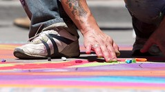 Photograph: Denver Chalk Art Festival 11