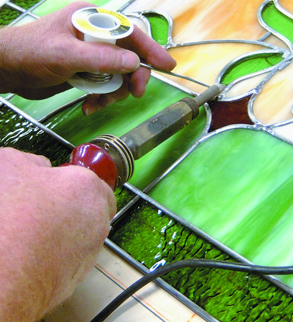 soldering stained glass flickr photo sharing. Black Bedroom Furniture Sets. Home Design Ideas