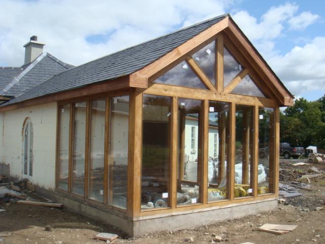 Oak Frame Sunroom Www Glenfort Com Glenfort Timber