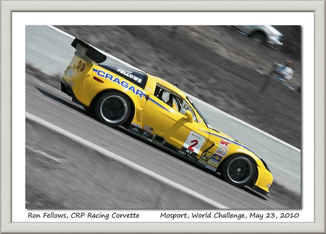 Ron Fellows, #2 CRP Racing Corvette, Mosport
