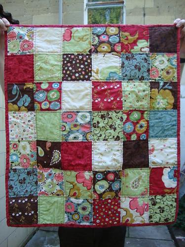 Simple Squares Panache Baby Quilt