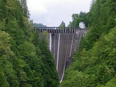 waterfall(0.0), reservoir(0.0), water feature(0.0), arch bridge(0.0), viaduct(0.0), dam(1.0), infrastructure(1.0), bridge(1.0),