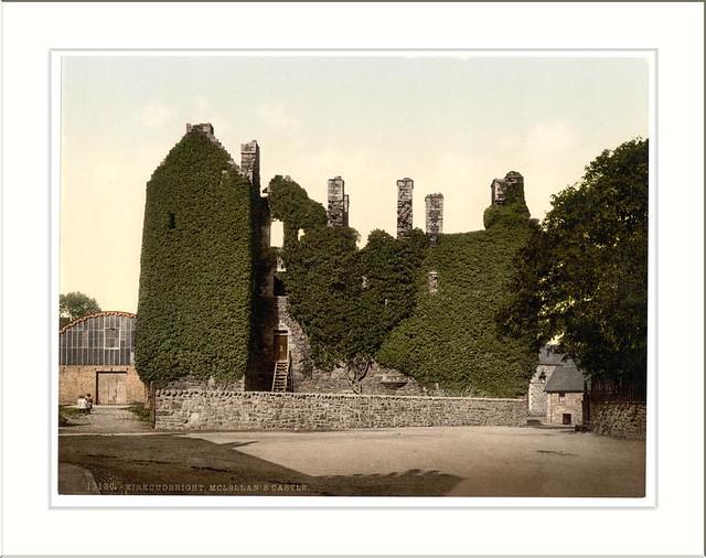 McLellans Castle Kirkcudbright Scotland