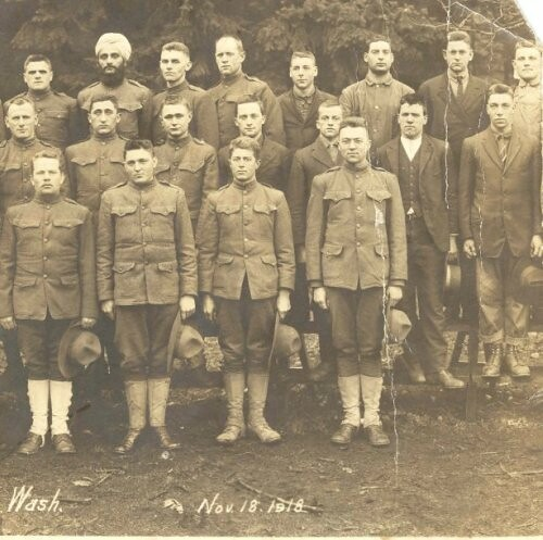 Conscientious Objectors at Camp Lewis, Washington, 1918