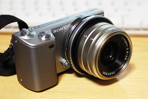 SONY NEX-5 / Kipon Adapter / Biogon f2.8 28mm