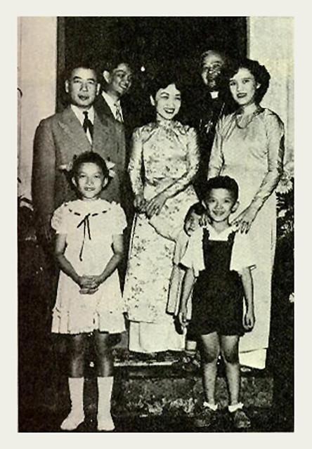 President Diem's family