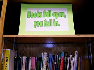 Books Fall Open, You Fall In
