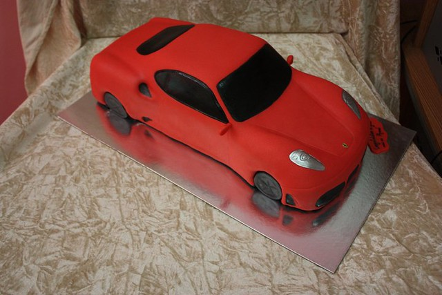 Ferrari Car Birthday Cakes