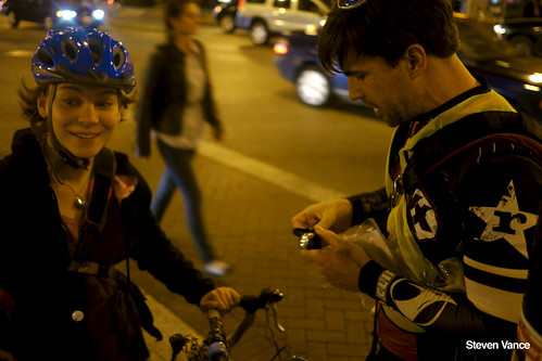 Bike lights distribution