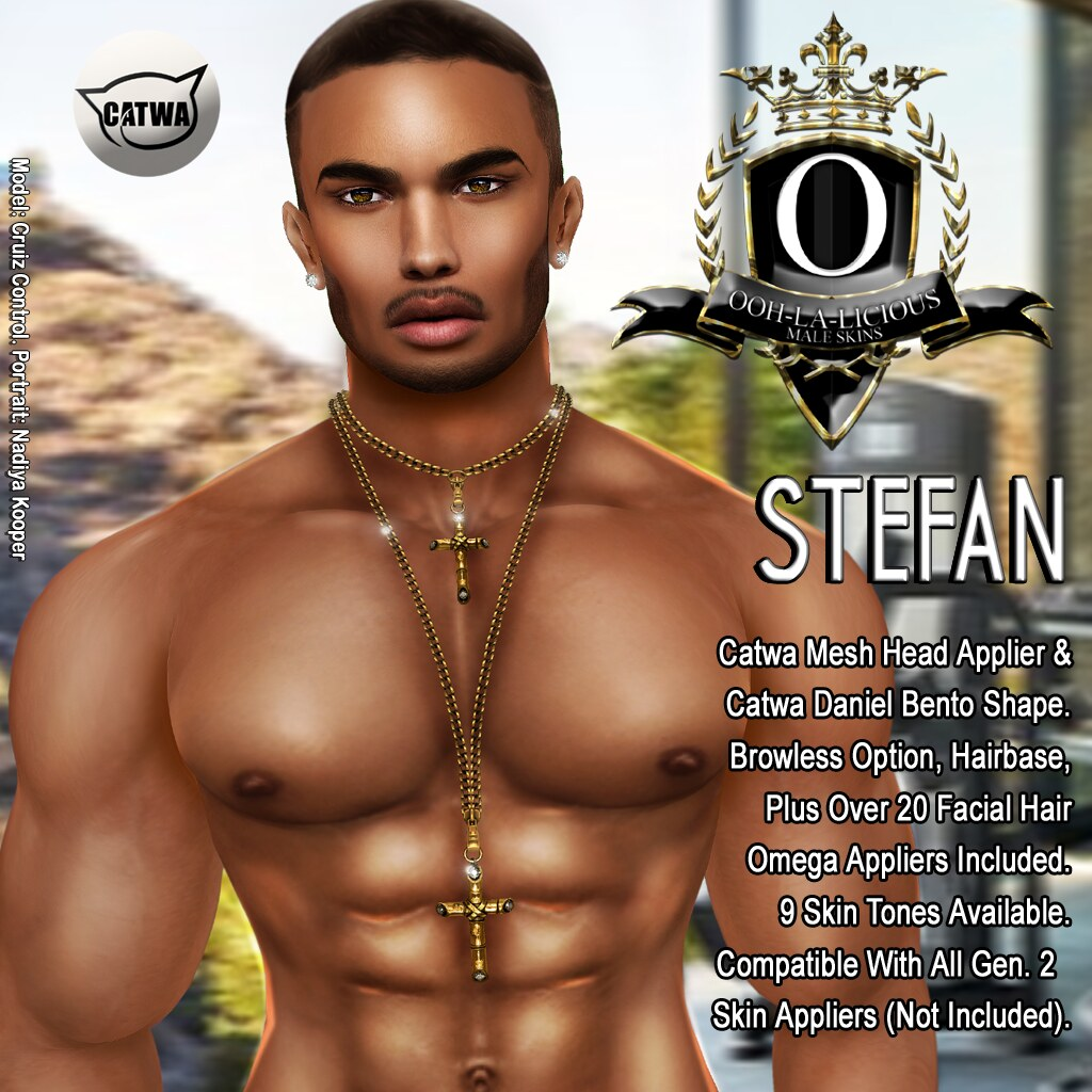 Ooh-la-licious® Stefan Catwa Appliers & Daniel Bento Shape - SecondLifeHub.com